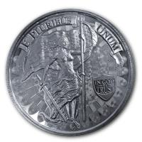 USA - Liberty and Unity - 1 Oz Silber HighRelief