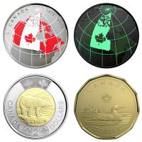 Kanada - 3,40 CAD From Far and Wide Set 2018 - Kursmünzensatz