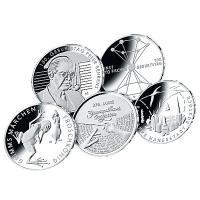 Deutschland 20 Eur Komplettsatz 2018 Silber Stempelglanz Im