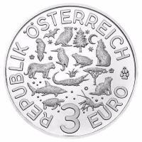 österreich 3 Euro Tier Taler Frosch 2018 Münze Im Online Shop