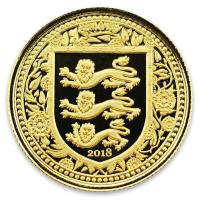Gibraltar - 2 GBP Royal Arms of England 2018 - 1/5 Oz Gold