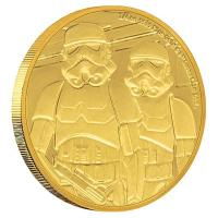 Niue - 25 NZD Star Wars Stormtrooper 2019 - 1/4 Oz Gold