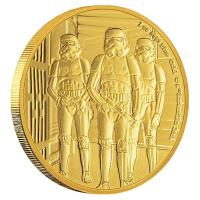 Niue - 250 NZD Star Wars Stormtrooper 2019 - 1 Oz Gold