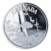 Grenada - 2 Dollar EC8 Diving Paradise - 1 Oz Silber