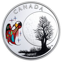 Kanada - 3 CAD Weisheiten: Freezing Moon - Silber Proof