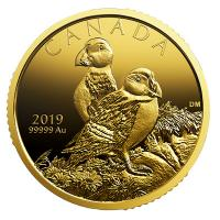 Kanada - 200 CAD Atlantic Puffins 2019 - 1 Oz Gold