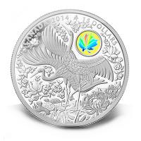 Kanada - 15 CAD Maple of Longevity 2014 - 1 Oz Silber