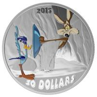 Kanada - 30 CAD Looney Tunes Fast and Furryous - 2 Oz Silber