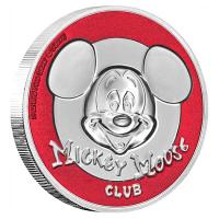 Niue - 5 NZD Disney Mickey Club 2019 - 2 Oz Silber UltraHighRelief