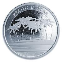 Fiji - 1 FJD Pacific Dollar 2018 - 1 Oz Silber