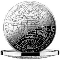 Australien - 5 AUD 1812 A New Map of the World - 1 Oz Silber