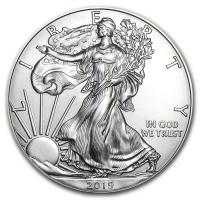 USA - 1 USD Silver Eagle 2019 - 1 Oz Silber