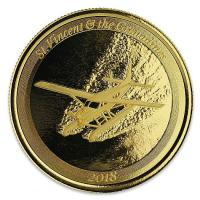 St. Vincent und Grenadinen - 10 Dollar EC8 Seaplane - 1 Oz Gold