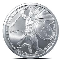 USA - Warrior Serie Spartan - 1 Oz Silber