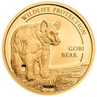 Mongolei - Wildlife Protection Gobi Bear (Gobi Bär) 2019 - Gold PP