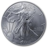 USA - 1 USD Silver Eagle 2000 - 1 Oz Silber
