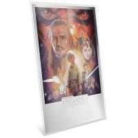 Niue - 2 NZD Star Wars Episode I The Phantom Menace - 35g Silber Poster