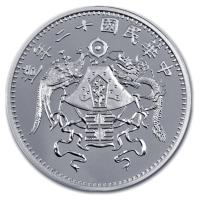 China - Dragon and Phönix Restrike - 1 Oz Silber