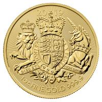 Großbritannien - 100 GBP Coat of Arms 2019 - 1 Oz Gold
