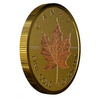 Kanada - 200 CAD 40 Jahre Maple Leaf 2019 - 1 Oz Gold Proof