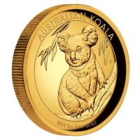 Australien - 200 AUD Koala 2019 - 2 Oz Gold HighRelief