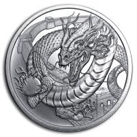 USA - World of Dragons The Chinese - 1 Oz Silber
