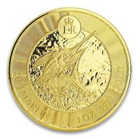 Cayman Islands - 5 Dollar Marlin 2019 - 1 Oz Gold