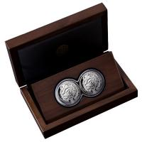Südafrika - 10 Rand Big Five Löwe 2019 - 2*1 Oz Silber Proof Set