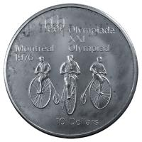 Kanada - 10 CAD Olympiade Montreal (Diverse) - 48,6g Silber