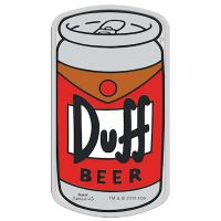Tuvalu - 1 TVD The Simpsons Duff Beer 2019 - 1 Oz Silber