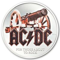 Cook Island - 2 CID AC/DC For Those About to Rock 2019 - 1/2 Oz Silber