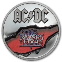 Cook Island - 10 CID AC/DC The Razors Edge 2019 - 2 Oz Silber