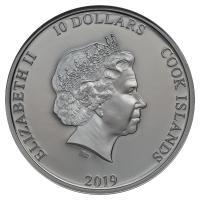 1oz Silver Coin 2019 Nuie Aladdin