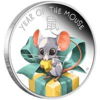 Tuvalu - 0,5 TVD Baby Mouse/Maus 2020 - 1/2 Oz Silber