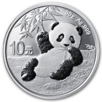 China - 10 Yuan Panda 2020 - 30g Silber
