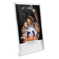 Niue - 2 NZD Star Wars Episode III Revenge of the Sith - 35g Silber Poster