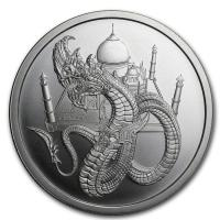 USA - World of Dragons The Indian - 1 Oz Silber