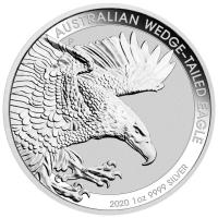 Australien - 1 AUD Wedge Tailed Eagle 2020 - 1 Oz Silber