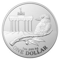 Australien - 1 AUD RAM WMF World Money Fair Berlin 2020 - 1 Oz Silber