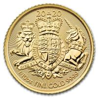 Großbritannien - 10 GBP The Royal Arms 2020 - 1/10 Oz Gold