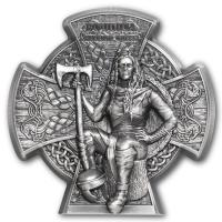 Isle of Man - 5 GBP Boudica Warrior Queen 2020 - 3 Oz Silber
