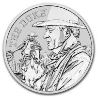 Tuvalu - 1 TVD John Wayne The Duke 2020 - 1 Oz Silber BU