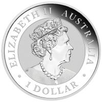Australien - 1 AUD Australian Nugget Hand of Faith 2020 - 1 Oz Silber