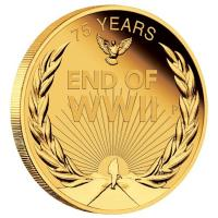Australien - 25 AUD End of World War II 2020 - 1/4 Oz Gold