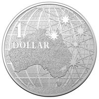 Australien - 1 AUD RAM Beneath the Southern Sky 2020 - 1 Oz Silber