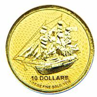 Cook Island - 10 CID Bounty 2020 - 1/10 Oz Gold