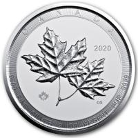 Kanada - 10 CAD Twin Maple Leaf 2020 - 2 Oz Silber
