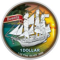 Cook Island - 1 CID Bounty Sunset 2020 - 1 Oz Silber Color