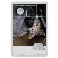 Niue - 2 NZD Star Wars Episode IV A new Hope 2020 - 1 Oz Silber