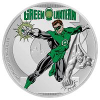 Niue - 2 NZD DC Justice League Green Lantern - 1 Oz Silber